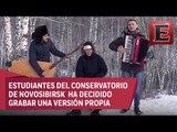 'Despacito' al estilo ruso: Estos músicos le ponen ritmo latino al duro clima de Siberia