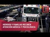 Suman 11 peregrinos muertos en accidente vial sobre la México-Puebla