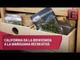 California permite el uso recreativo de la marihuana
