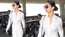 Deepika Padukone gives a Dhoti Twist to her Airport Look, Check out here | Boldsky