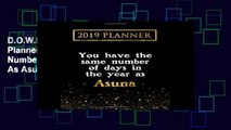 D.O.W.N.L.O.A.D [P.D.F] 2019 Planner: You Have The Same Number Of Days In The Year As Asuna: Asuna