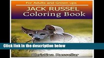D.O.W.N.L.O.A.D [P.D.F] JACK RUSSEL Coloring Book For Adults and Grown ups: JACK RUSSEL  sketch