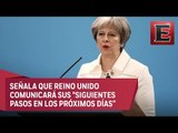 Reino Unido no tolerará amenazas de Reino Unido, afirma Theresa May