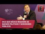 No hay partidos corruptos, solo políticos corruptos: Meade