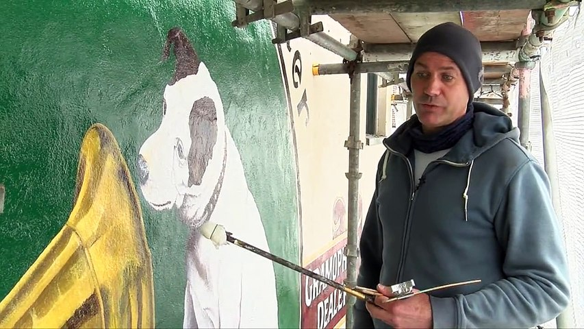 Nipper the dog is back. Watch Steph Newington tell us more about the work he's being doing to bring this Jersey icon back to life.