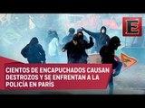 Grupos radicales provocan graves disturbios en Francia
