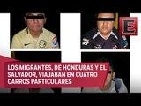 Rescatan 21 migrantes en Tamaulipas