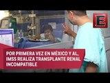 Realiza IMSS transplantes de renales incompatibles