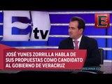 Viabilidad económica y tranquilidad social, propuestas de Yunes Zorrilla