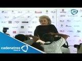 Silvia Pinal recibe un premio por su trayectoria en Acapulco / Silvia Pinal carrera