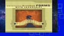 PDF Download] Extending Acrobat Forms with JavaScript [PDF