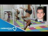 Jorge Salinas trabajará con bailarinas de pole dance / Jorge Salinas work with dancers pole