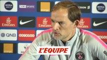 Tuchel évoque la composition du PSG contre Lyon - Foot - L1 - PSG