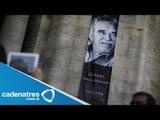 Homenaje de Gabriel García Márquez en Bellas Artes / Gabriel Garcia Marquez dies