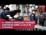 Refuerzan seguridad en oficina de López Obrador por encuentro con funcionarios de EU