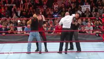 undertaker and kane attacks shawn michaels and triple h wwe monday night raw october 01 2018