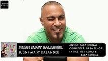 Jugni Mast Kalander | Baba Sehgal | Jugni Mast Kalander | Archies Music