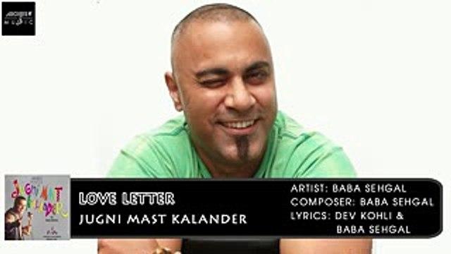Love Letter | Baba Sehgal | Jugni Mast Kalander | Archies Music