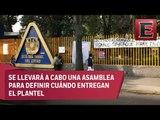 Continua el paro estudiantil en el CCH Azcapotzalco