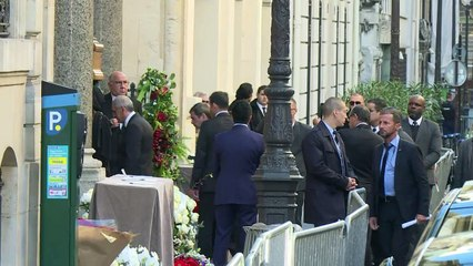 Dernier hommage à Charles Aznavour à l'église arménienne à Paris