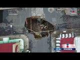 Se abre un socavón en zona centro de Ciudad de México | Noticias con Ciro Gómez Leyva