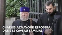 PHOTOS. Michel Drucker, André Manoukian... les amis de Charles Aznavour à la cathédrale arménienne de Paris pour les osbèques du chanteur