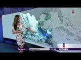 Lluvias y frío en los siguientes días en México | Noticias con Yuriria Sierra