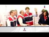 Primer Ministro de Canadá visitó la sede de la Cruz Roja Mexicana | Noticias con Ciro
