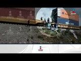 Bandas de asaltantes saquean trenes en Puebla en presencia de militares | Noticias con Ciro
