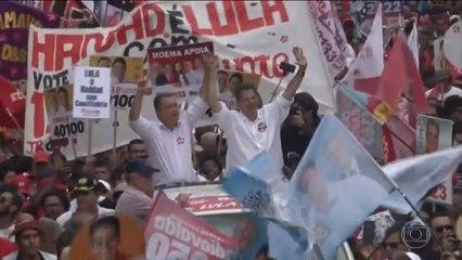 Haddad encerra campanha em Feira de Santana
