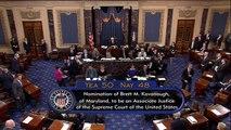 Senate votes to confirm Brett Kavanaugh to Supreme Court