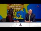Carlos Salinas de Gortari en entrevista exclusiva sobre su nuevo libro | Noticias con Yuriria Sierra