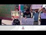 Marcharon para exigir justicia por asesinato de Rosalinda Morales   Noticias con Ciro Gómez Leyva