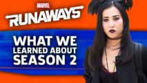 Marvel's Runaways Season 2 | What We Learned At NYCC