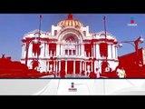 Palacio de Bellas Artes se tiñe de 'Rojo Mexicano' | Noticias con Yuriria Sierra