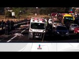 Terrible accidente carretero dejó 11 peregrinos muertos en la México-Puebla | Noticias con Ciro
