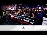 Manifestantes marcharon contra la Ley de Seguridad Interior   Noticias con Ciro