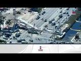 Un puente colapsó en Miami y dejó al menos cuatro muertos | Noticias con Ciro Gómez Leyva