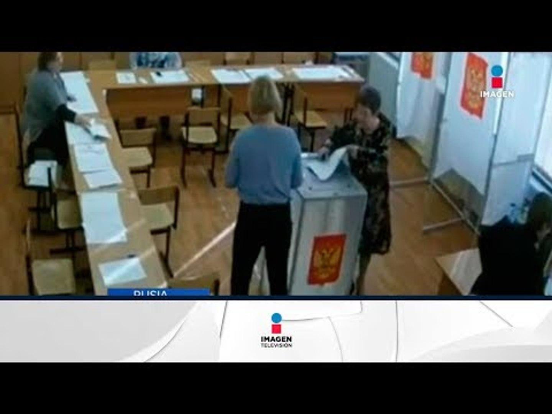 Vladimir Putin gana de manera arrolladora elecciones   Noticias con Francisco Zea