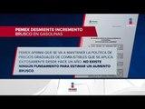 Pemex desmiente rumores sobre incremento en combustibles   Noticias con Ciro Gómez Leyva