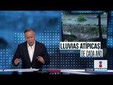Las lluvias causaron la muerte de un niño en el oriente de la CDMX | Noticias con Ciro Gómez Leyva