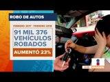 Los estados de México donde roban más autos | Noticias con Francisco Zea