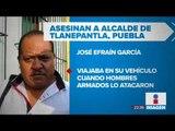 Asesinan a balazos a un alcalde en Puebla | Noticias con Ciro Gómez Leyva