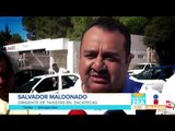 Taxistas se manifiestan en contra de la inseguridad en Zacatecas | Noticias con Francisco Zea