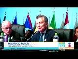 Presidente de Argentina va contra Nicolás Maduro, y Evo Morales lo defiende | Noticias con Zea