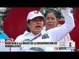 Hoy se cumplieron 43 meses y los 43 de Ayotzinapa no aparecen | Noticias con Ciro Gómez Leyva