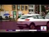 Activan alerta amarilla por lluvias en la CDMX   Noticias con Yuriria Sierra