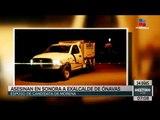 Asesinan a esposo de candidata de Morena en Sonora | Noticias con Francisco Zea