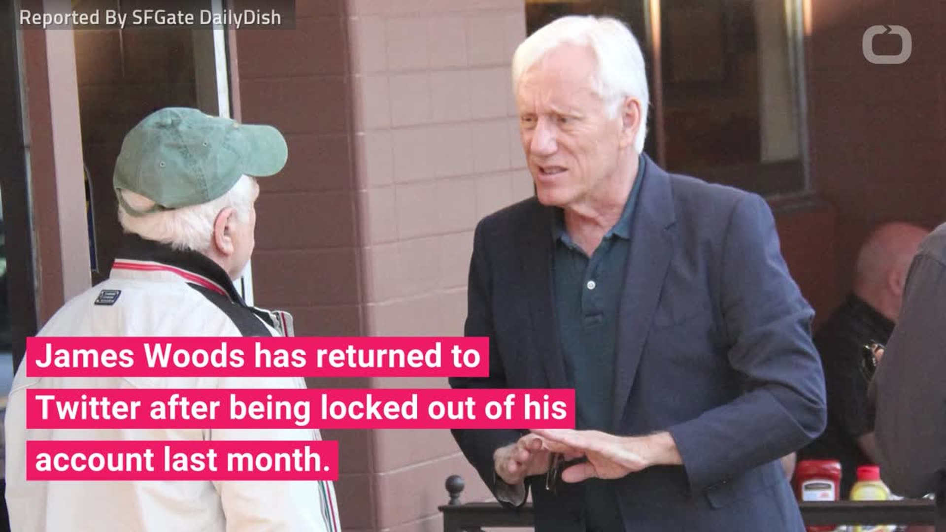 James Woods Return To Twitter Includes Tweets Bashing Twitter And Praising Trump