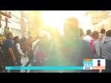 Maestros se enfrentaron a policías afuera de Televisa Chapultepec | Noticias con Francisco Zea